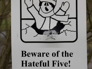 The Hateful Five 11