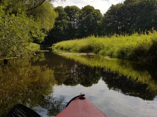 Kanufahren Canoeing 008