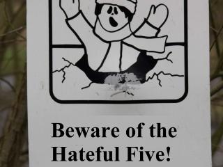 The Hateful Five 11